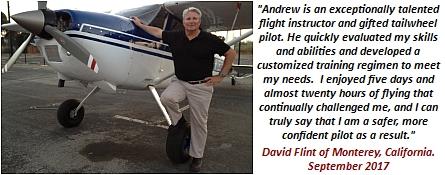 SkyHoppers - Cessna 180 Flight Training